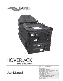 English EMS Evacuation HoverJack Manual