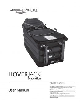 English Evacuation HoverJack Manual