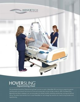HoverSling Repositioning Sheet Brochure
