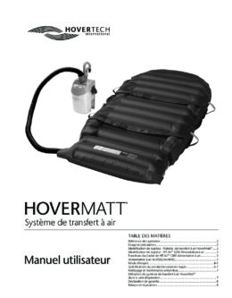 French HoverMatt Manual and Labels