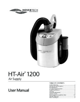English HT‑Air 1200 Manual