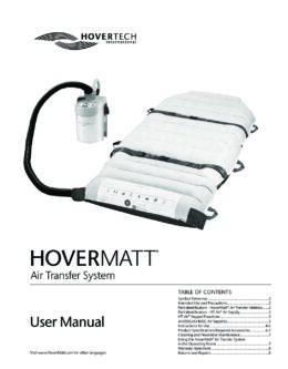 English HoverMatt Manual
