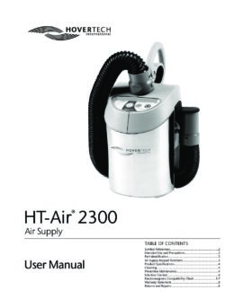 English HT‑Air 2300 Manual