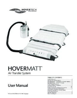 English HoverMatt Manual